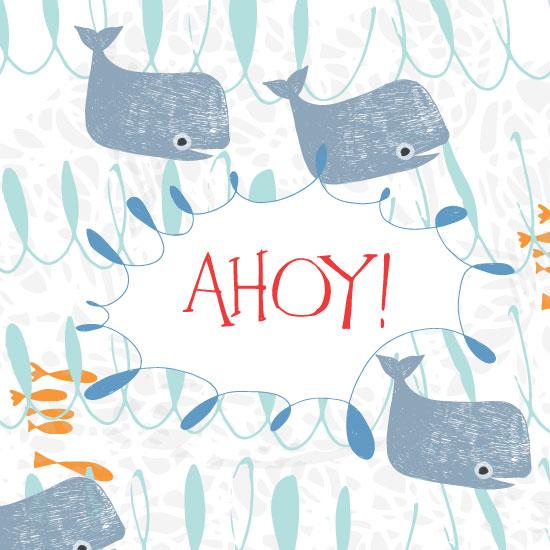 art prints - Ahoy! by Trish
