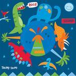 Here come the Dinosaurs... by Dena Cundari