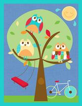 Owls are out to play by Dena Cundari