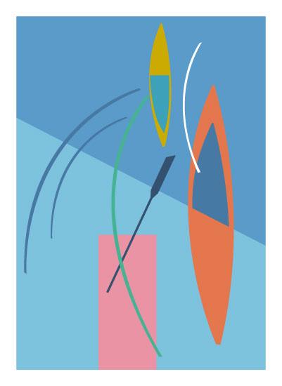 art prints - Boat Dock by Marjie Best
