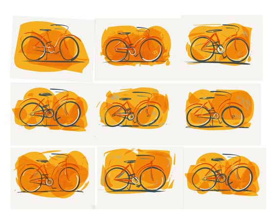 art prints - bikes by Jimmy Holder