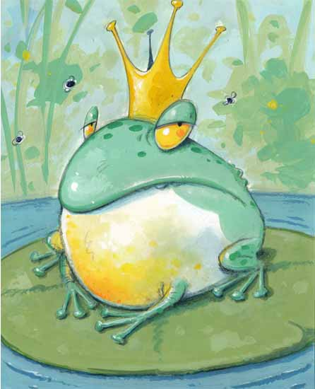 art prints - frog by Jimmy Holder