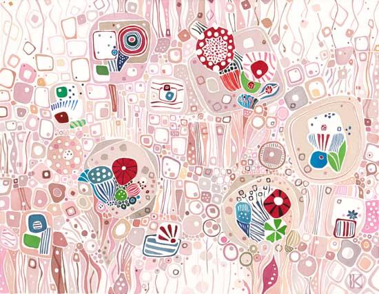 art prints - Rose Geometric by Katalin Klecz