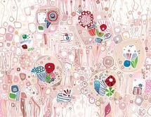 Rose Geometric by Katalin Klecz