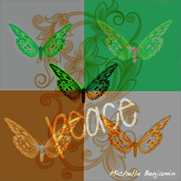 art prints - Peace is a Fruit of the Spirit by Michelle Benjamin