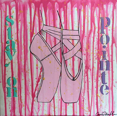 art prints - Stay on pointe by Carrie Fiorella