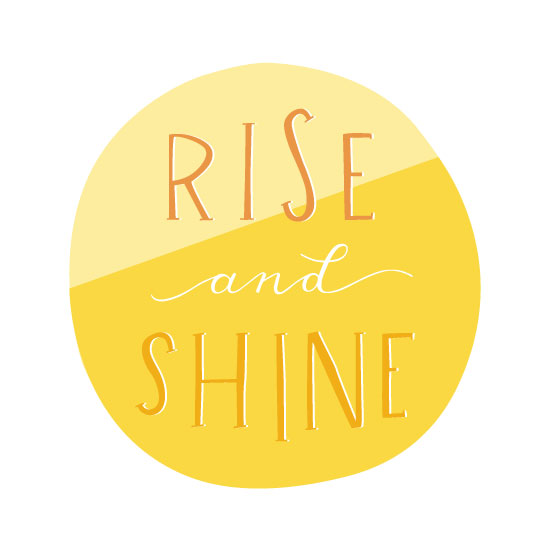 art prints - Rise And Shine by Barney Design