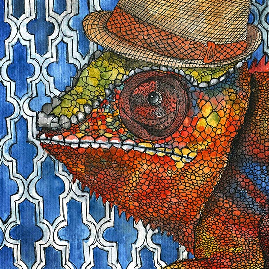 art prints - Khalil by Amy Nickerson