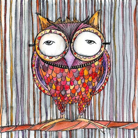 art prints - Ziggy by Amy Nickerson