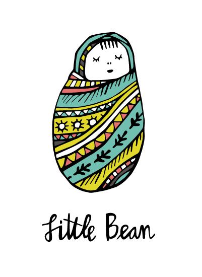 art prints - Little Bean by Laura Korzon