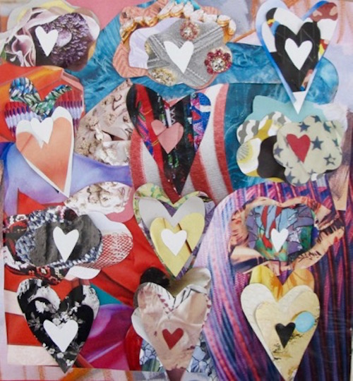 art prints - Layers of Hearts by Jessica Bohl