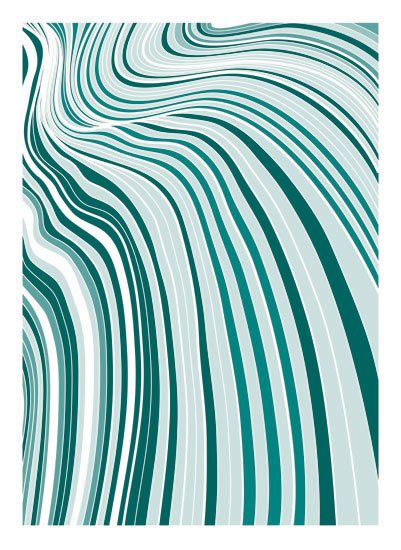 art prints - Waves and Ripples by Jennifer