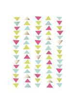 Triangle Parade by Ever Upward Studio