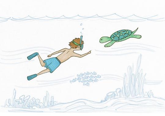 art prints - Life Underwater by Laura Ansley Koerner