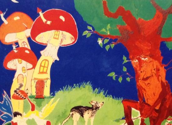 art prints - Fairyland stroll by Loriann Chevremont