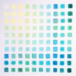 Color Study in Blue by Sarah Nobles