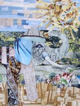 Blue Elephant by Jessica Bohl