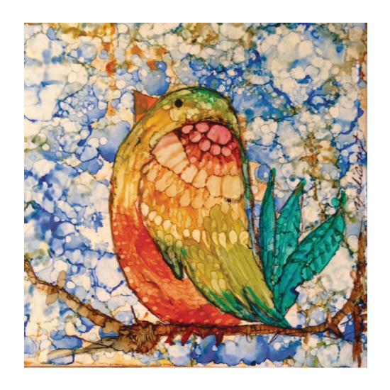 art prints - Tweety Pie Bird by YakiArtist