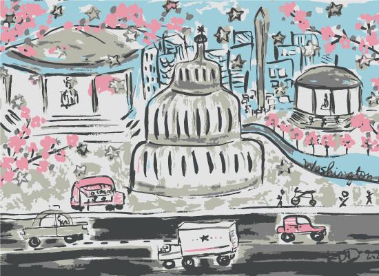 art prints - DC Sketched. by Kajal Dhabalia