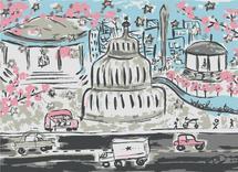 DC Sketched. by Kajal Dhabalia