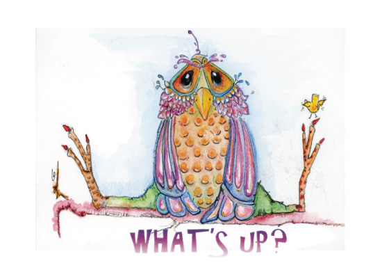 art prints - What's Up? by YakiArtist