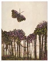 batik flutter above the... by Elsa K