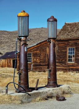 Gas Pumps from the Past