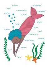 irene takes a dive by Betsy Siber