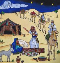 Desert Moon by Holly Norine Pawson