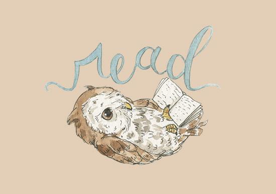 art prints - READ! by Genevra Bell