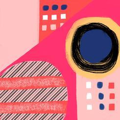 Fun Patterns on Pink