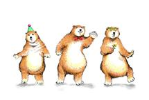 Boogie Bears Party Vers... by Shom Teoh