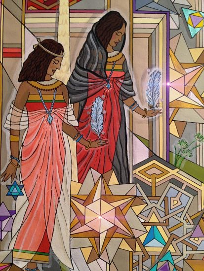 art prints - Queens of Abydos by Holly Norine Pawson