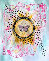 Free Spirit Fly by Emily Burlingame