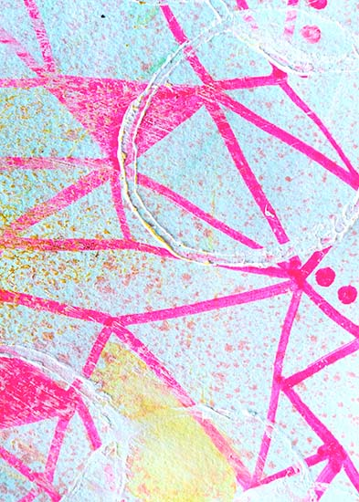 art prints - Geometry in Pink by Emily Burlingame