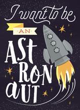 Wannabe astronaut - Wan... by Alice Galeotti