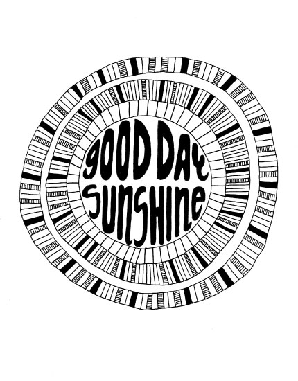 art prints - Good Day Sunshine by Mellani DeJesus