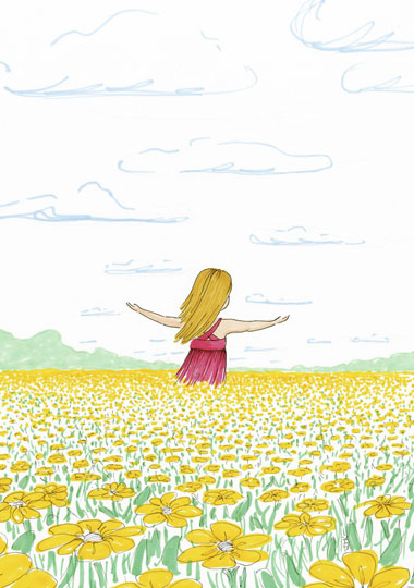 art prints - Freedom in the Field by Laura Ansley Koerner