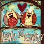 Love is Giving by Sue Allemand