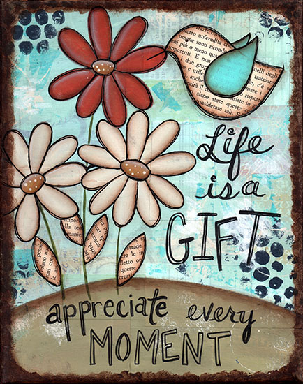art prints - Life is a Gift by Sue Allemand
