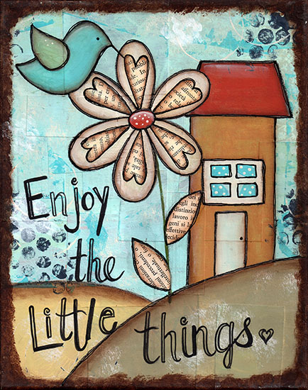 art prints - Enjoy the Little Things by Sue Allemand