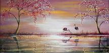 Flamingo Love by Noelle