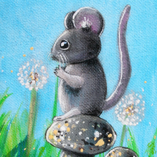 art prints - MOUSE by Selinah Bull