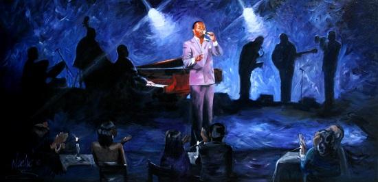 art prints - Jazz With Jamie Davis by Noelle
