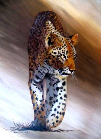 art prints - Spots On The Move by Noelle