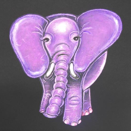 art prints - ELEPHANT by Selinah Bull
