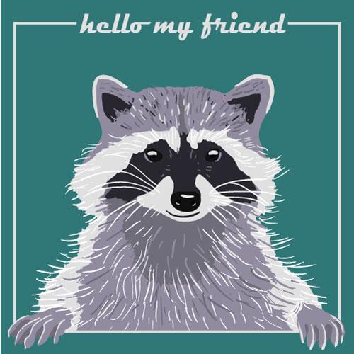 art prints - Hello my friend by Marina Markova