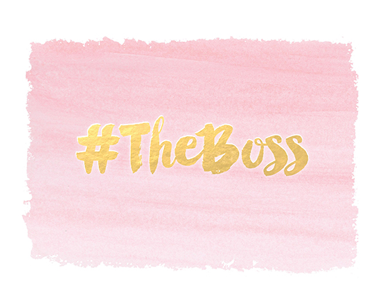 art prints - The Boss by Patina Creative