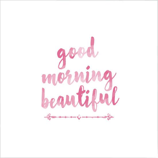 art prints - Good Morning Beautiful by Lisa Krueger