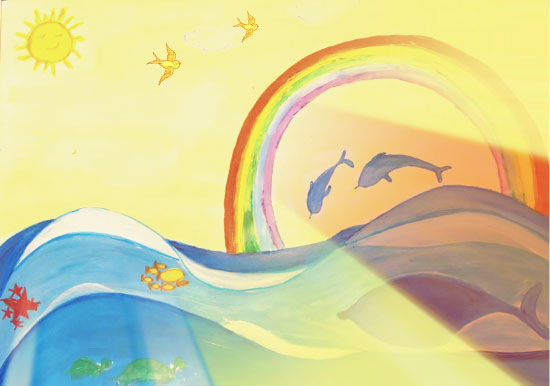 art prints - Rainbow love by Anubha